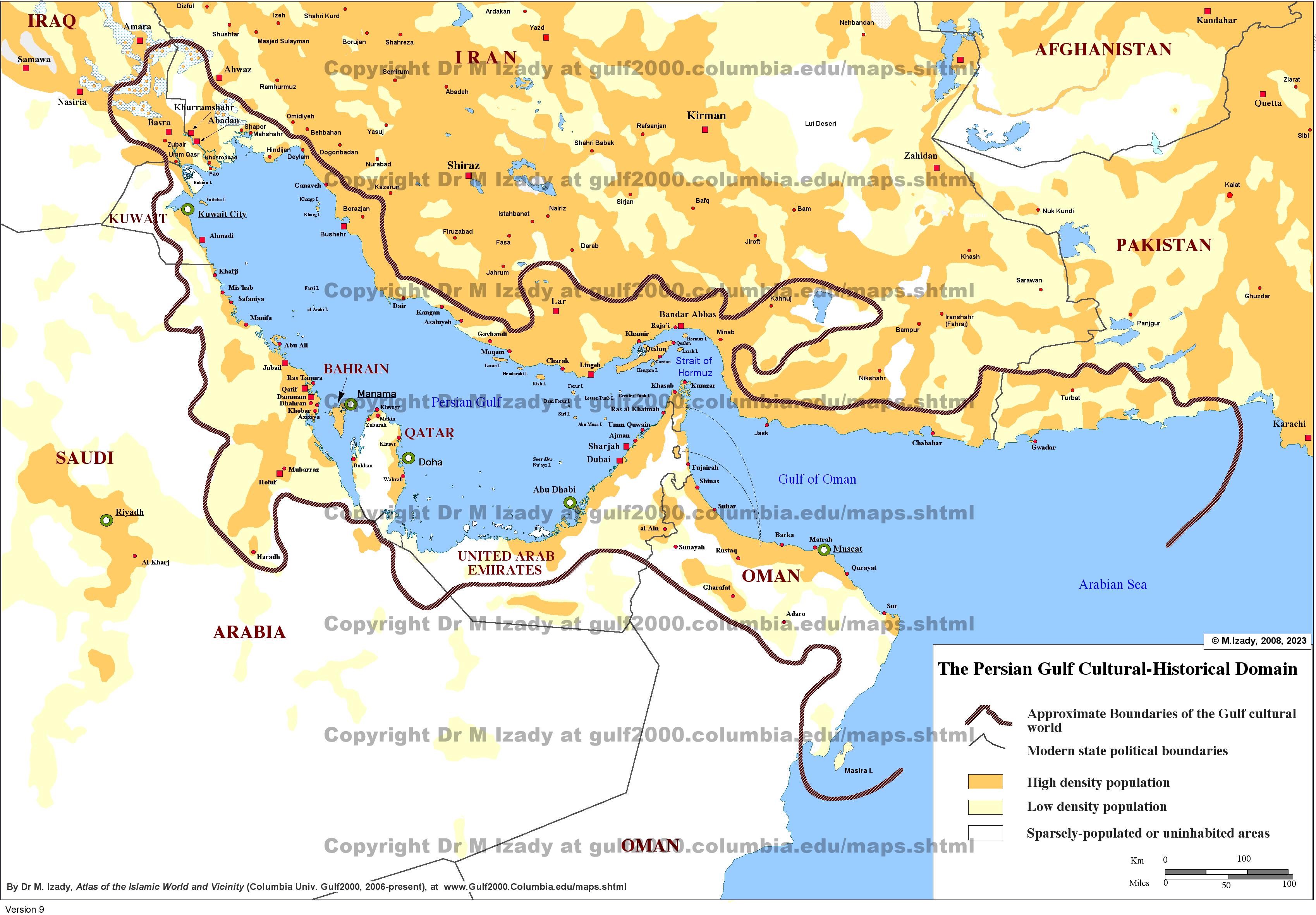 Opinions on Persian Gulf