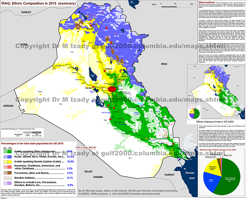 27 maps that explain the crisis in iraq vox iraqs demographic divide gumiabroncs