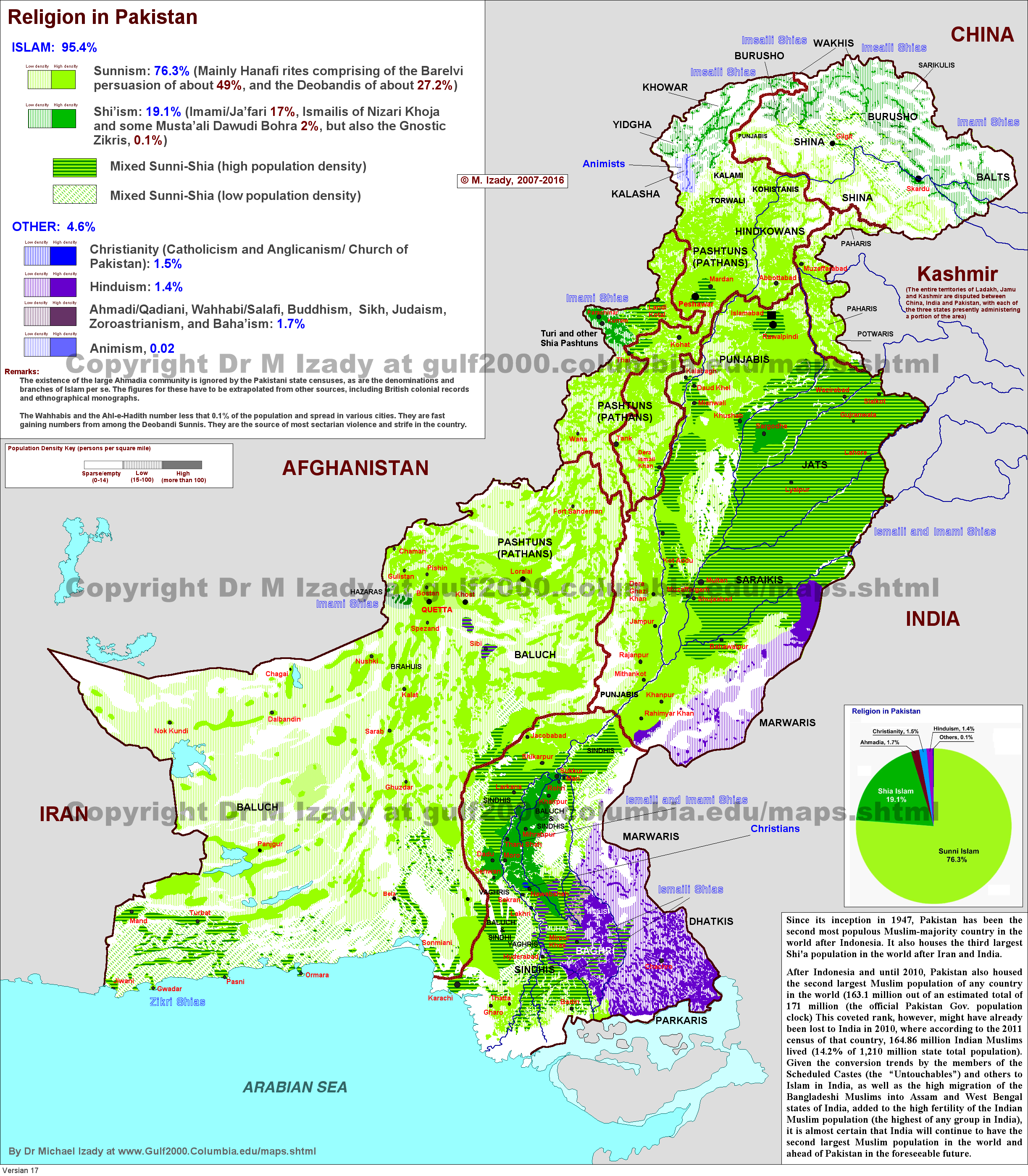 How Did Partition Change The Religious Map In Punjab South Asia - World map showing religion