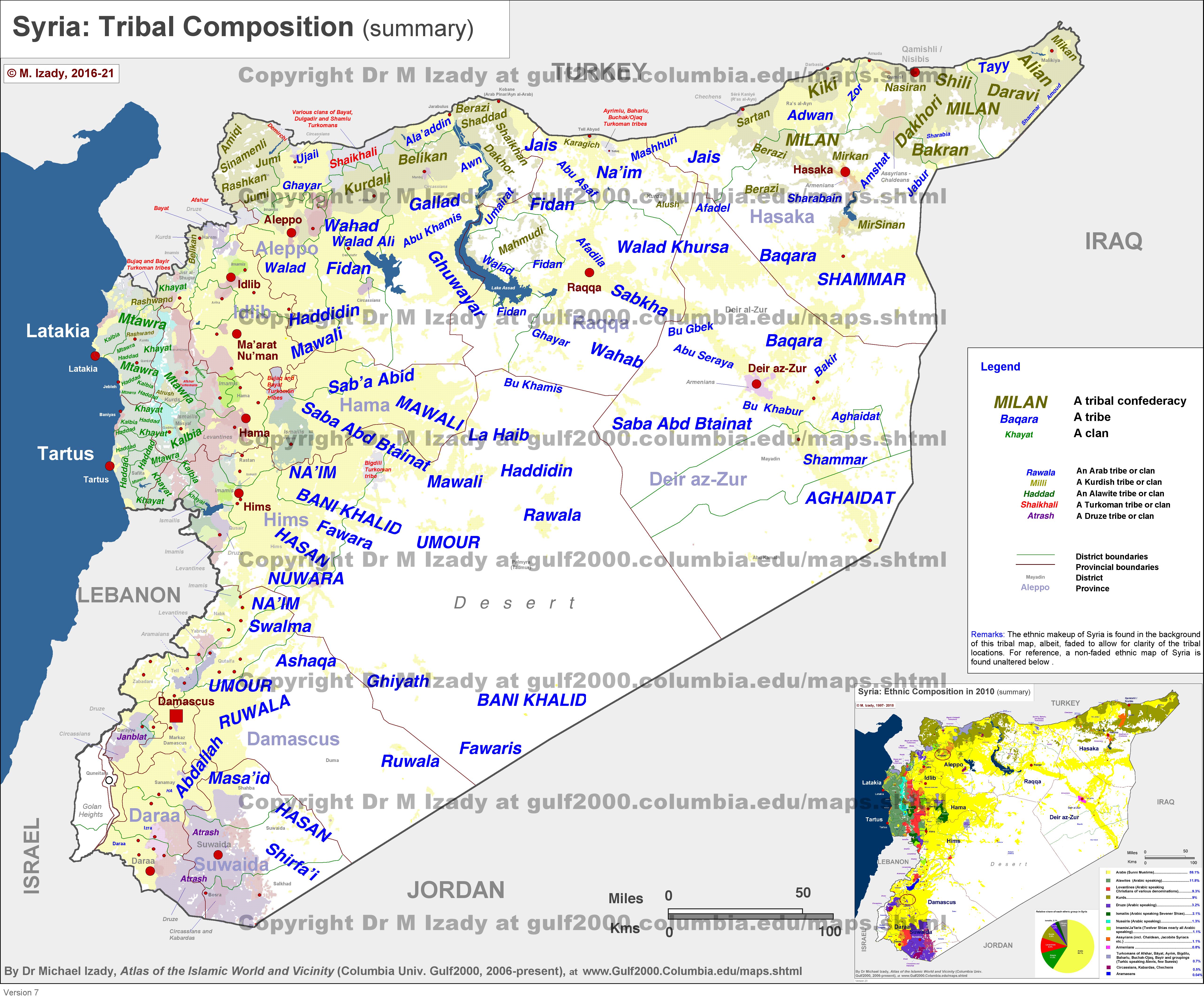 Syrien Karte Aktuell 2018.Aktuelles Dossier Stämme In Syrien